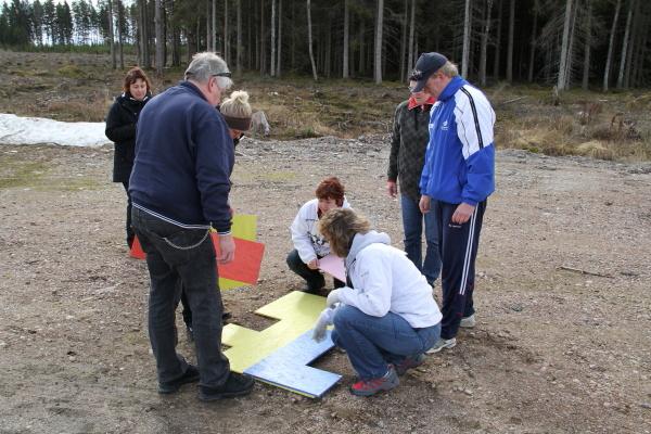Tetris-pussel - Annelundsmarschen 2010