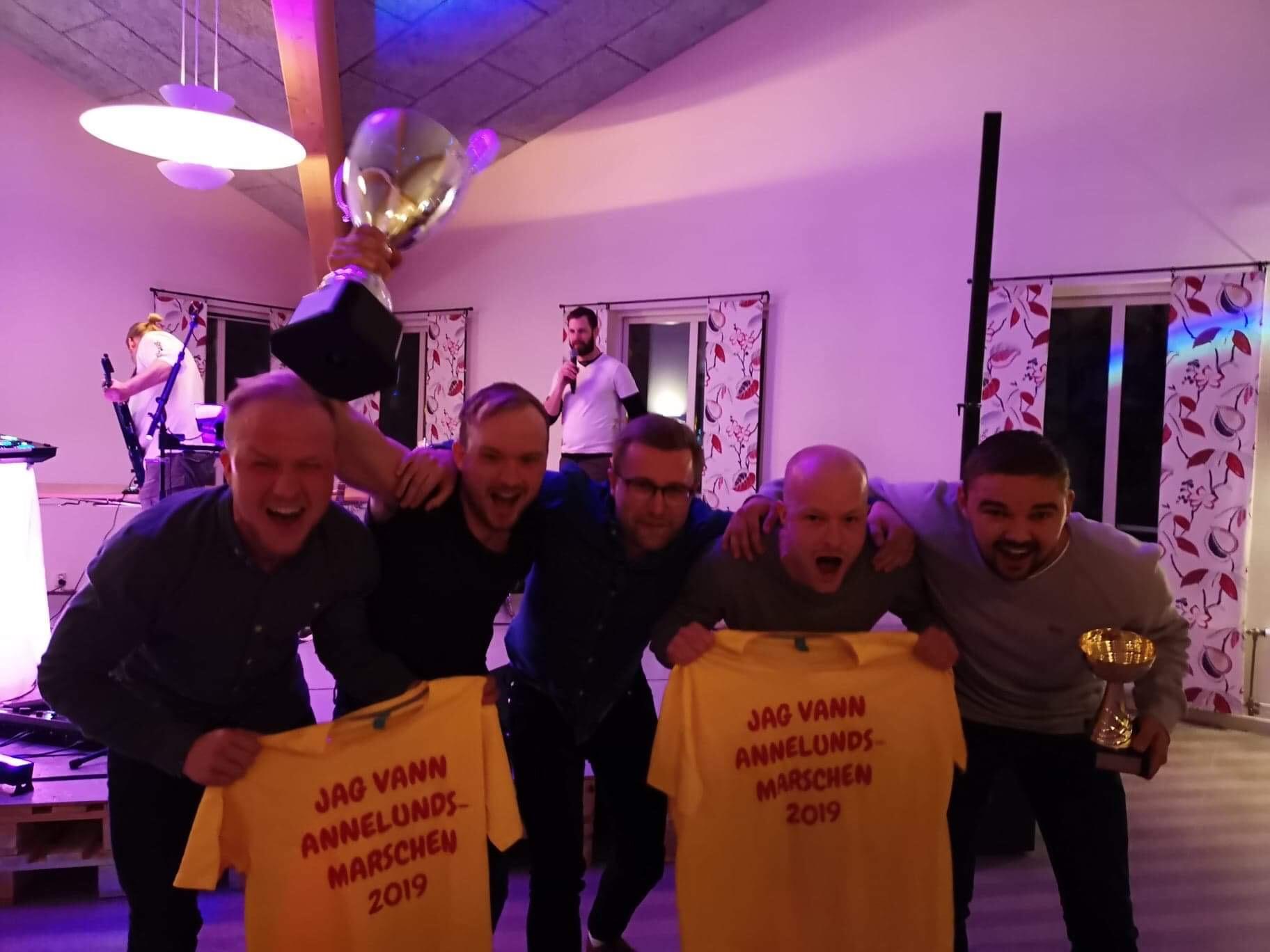 Segervrål från Molla Knatters - Vinnare av Annelundsmarschen 2019